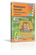 Genetik - Molekulare Genetik - Proteinbiosynthese - Schulfilm (DVD)