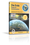 Erde - Planet im Sonnensystem - Schulfilm (DVD)