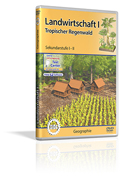 Landwirtschaft I - Tropischer Regenwald - Schulfilm (DVD)